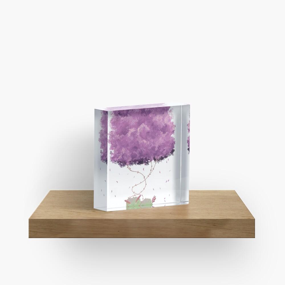 Dehra Napping Acrylic Block