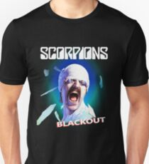 Skorpione - Blackout Slim Fit T-Shirt