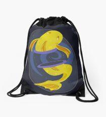 Cosmic Fish logo Drawstring Bag