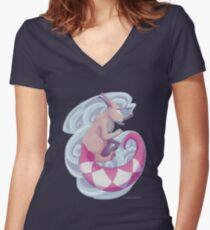 Krazzle shirt Women's Fitted V-Neck T-Shirt