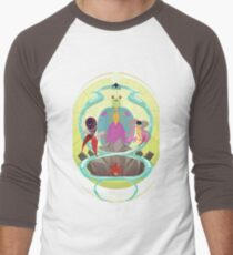 Planetary Guardians Men's Baseball ¾ T-Shirt