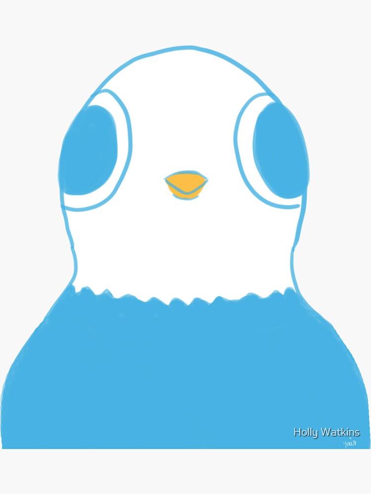 """""""Beep"""" Little Cute Pigeon Bird by neatohollo"""