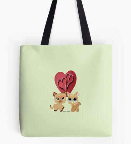Cats ( 6914 Views) Tote Bag