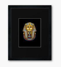 Pharaoh King Tut - Tutankhamun Egyptian  Framed Print