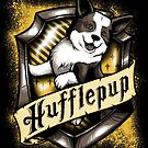 Hairy Pupper Doghouses - Hufflepup by dauntlessds
