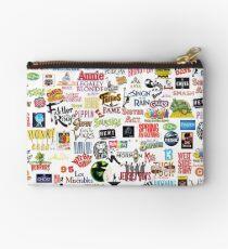 Musical Logos (Cases, Duvets, Books, Clothes etc) Zipper Pouch