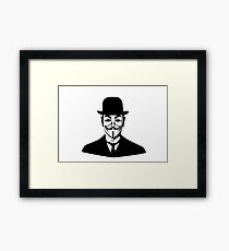 Son of Anonymus Framed Print