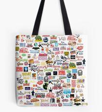 Bolsa de tela Logos Musicales (Estuches, Edredones, Libros, Ropa, etc.)