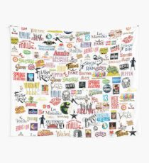Musikalische Logos (Etuis, Bettdecken, Bücher, Kleidung usw.) Wandbehang