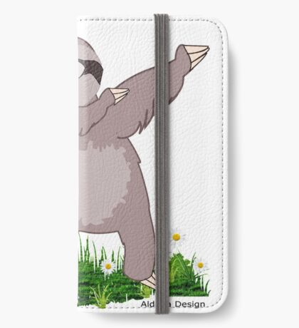 Sloth Dabs iPhone Wallet