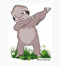 Sloth Dabs on it Photographic Print