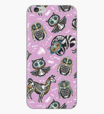 Animals sugar skull iPhone Case