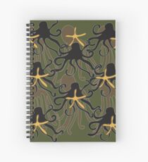 Octopus Camouflage Spiral Notebook