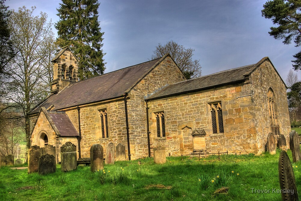 All Saints Church - Hawnby North Yorkshire #1 by Trevor Kersley