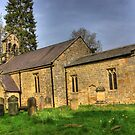 All Saints Church - Hawnby North Yorkshire #1 by Trevor Kersley