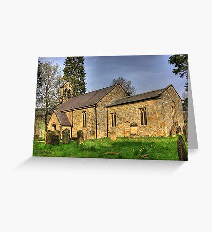 All Saints Church - Hawnby North Yorkshire #1 Greeting Card