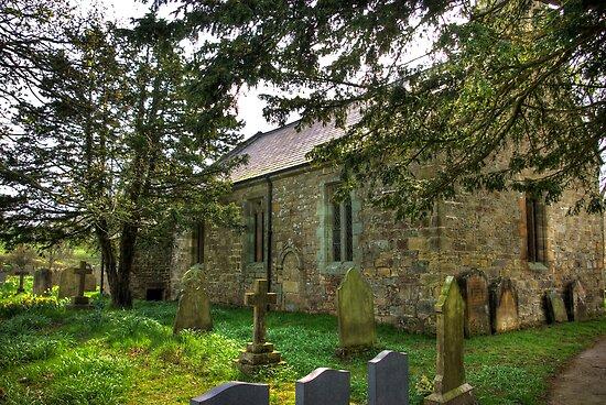 All Saints Church - Hawnby #3 by Trevor Kersley