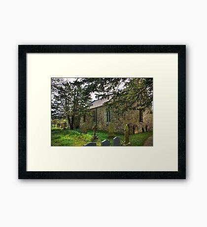 All Saints Church - Hawnby #3 Framed Print