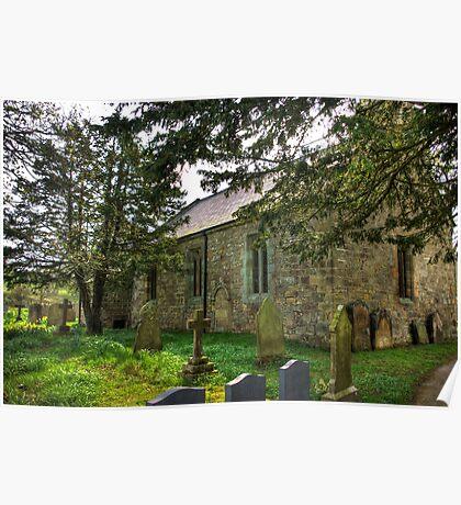 All Saints Church - Hawnby #3 Poster