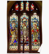 Window-All Saints Church-Hawnby Poster
