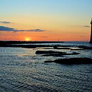 Lighthouse Sunset by Paul Reay