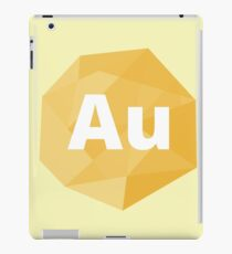 Metal Collection: Gold iPad Case/Skin