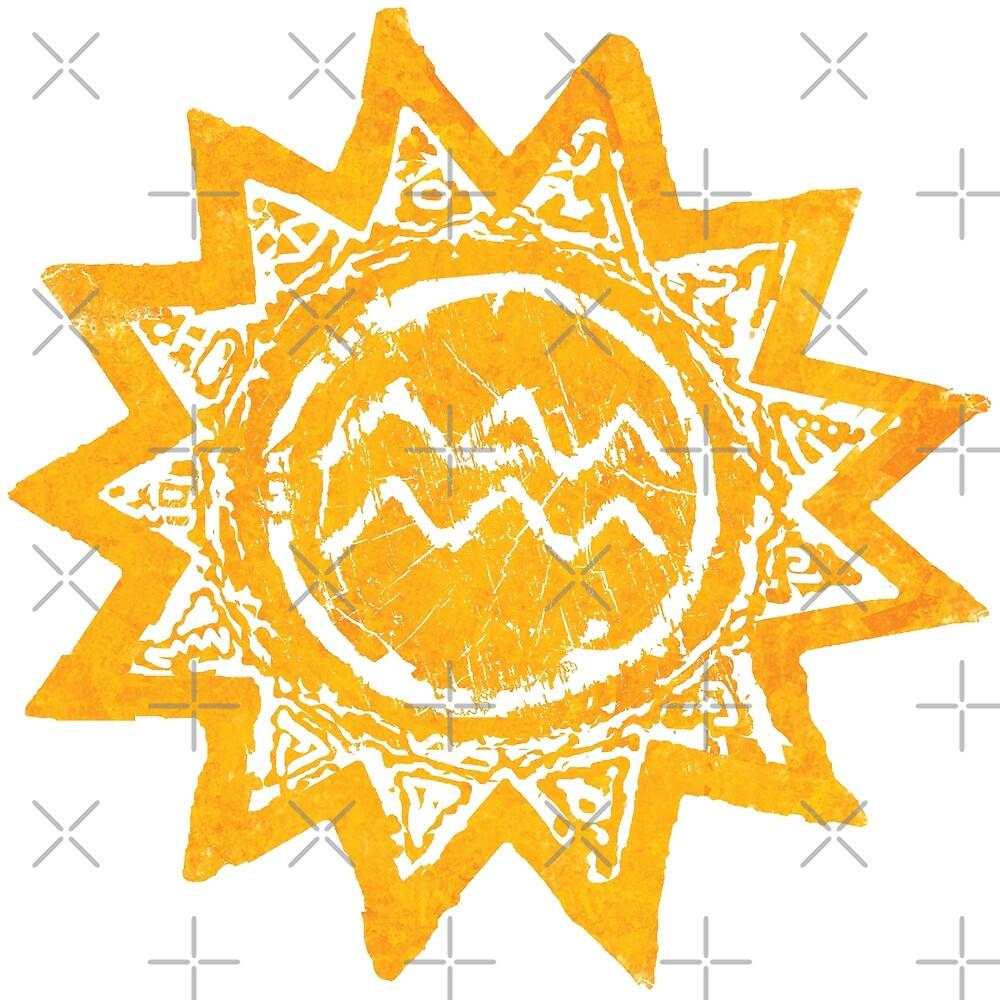 Sonne trifft meer von Periartwork