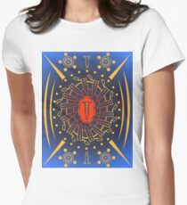 Eppendorf Microcentrifuge Tube Mandala for Science Enthusiasts Women's Fitted T-Shirt