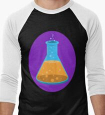 Science Erlenmeyer Flask for Science Enthusiasts Men's Baseball ¾ T-Shirt