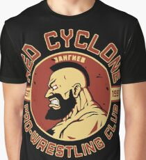 Wrestling Game Graphic T-Shirt