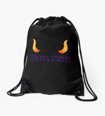 Gamzee Horns With Text Drawstring Bag