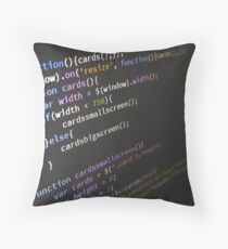 Programming Throw Pillow