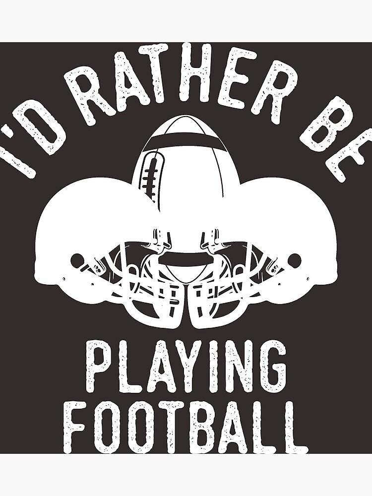 bb635cf2 Time Is Precious Football T-Shirt - Cool Funny Nerdy American Football  Footballer Coach Team
