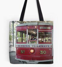 Bendigo..Talking Tram   Tote Bag