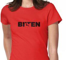 Bitten Womens Fitted T-Shirt