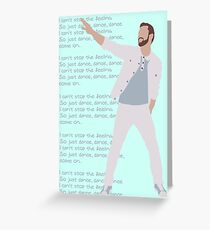 Justin T Greeting Card