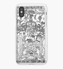 Palenque mayan astronaut iPhone Case/Skin