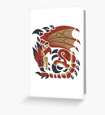 Rathalos Greeting Card
