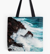 CONFRONTING THE STORM / Lanzarote, Spain Tote Bag