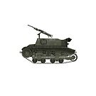 Polish WWII Era Artillery Tractor - CP (without roundel) by Escodrion