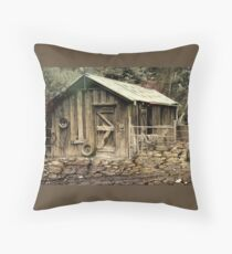 The Shed at Bella Vista Throw Pillow