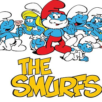 The Smurfs by imlying