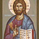 Jesus Christ Prince of Peace by ikonographics