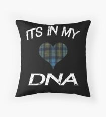 Its in my DNA I love Scotland Rugby for the Proud Scot Throw Pillow
