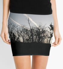 #Morning, #Evening, #trees, #nature, #black, #white, #blackandwhite, #view, #contrast, #bush, #picture, #photo, #composition, #art, #VisualArt, #PhotoArt, #ModernArt, #light, #shadows, #LightAndShadow Mini Skirt
