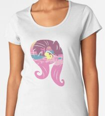 MLP Fluttershy Smile  Women's Premium T-Shirt
