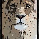 Lion  by fantasytripp