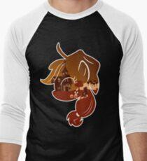 MLP Applejack Smile Men's Baseball ¾ T-Shirt