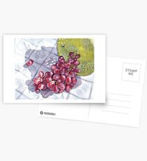 Red Grapes Postcards