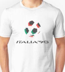 Camiseta ajustada Logotipo de Italia 90